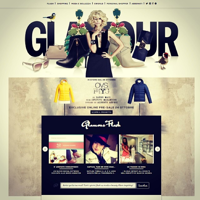 ShoeAdvisor in home page su Glamour Italia