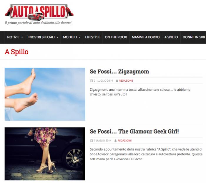 "Rubrica ""A Spillo"" by ShoeAdvisor"